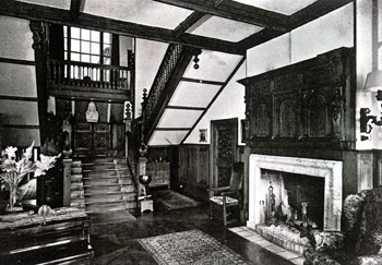 The main hall in 1928 [HN2-Spen4/12]